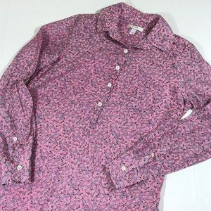 💰$10 sale! J. Crew silk blend floral popover